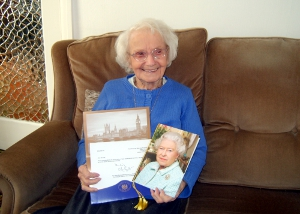 Stockport Ada Hill 100th Birthday1