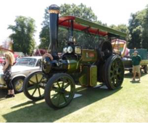 Strawberry Fair Steam Engine