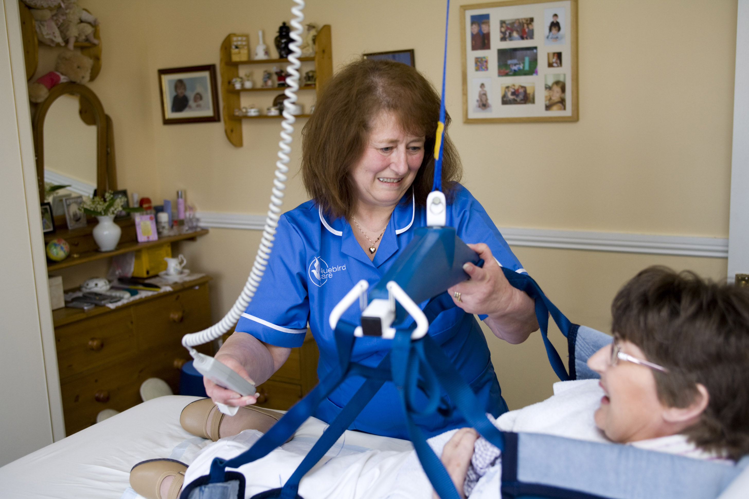 Home care, complex care in bed