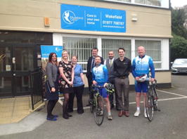 Bluebird Care Wakefield Cycle Challenge