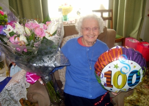 Stockport Ada Hill 100th Birthday2