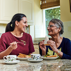 live-in care at home with Bluebird Care