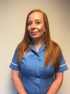 Emma Reid care assistant of the month April