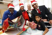 Care Workers Make Children Happy on Hospital Round