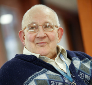 Man at home enjoying dementia care in Newmarket & Fenland